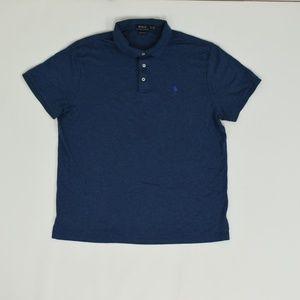 Polo Ralph Lauren Regular XL Blue   Polo Cotton So